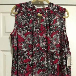 Nine West NWT- 2X Sleeveless shirt